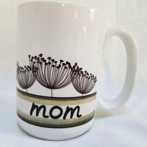 Mom Coffee Mug White Ceramic Personalized Name Cup